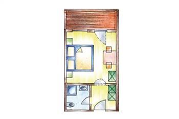 Zimmerplan Zimmer Economy